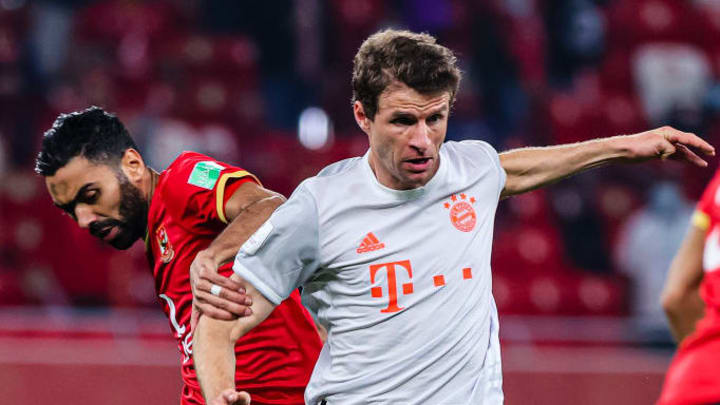 Thomas Muller has been forced to isolate