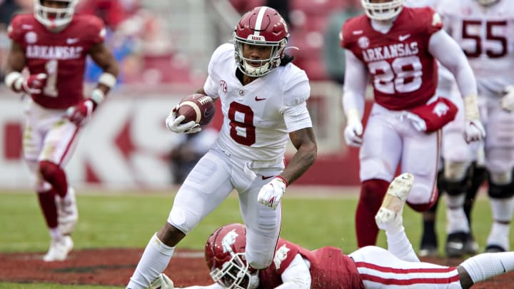 John Metchie III will play a key role in Alabama's offense in 2021.