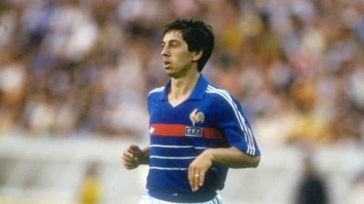 Alain Giresse of France