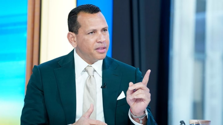 """Alex Rodriguez Visits """"Mornings With Maria"""""""