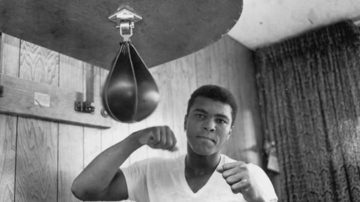 Muhammad Ali was nominated for two Grammy awards during his illustrious career.