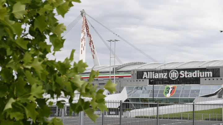 Una vista esterna dell'Allianz Stadium