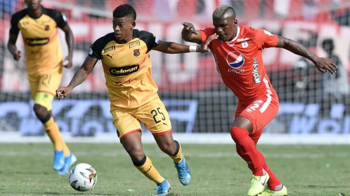 Juan Manuel Cuesta Flamengo Independiente Medellin