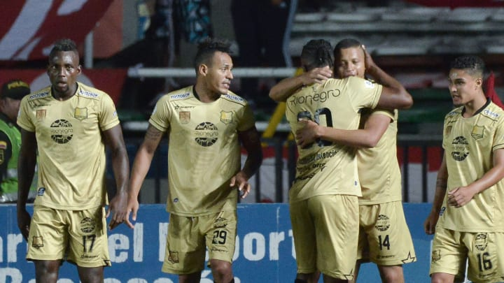 Rionegro Aguilas started with only seven men