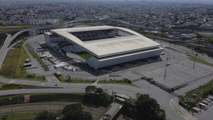 Corinthians cede Arena para a realização de triagem e testes rápidos para a detecção do novo coronavírus..