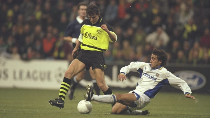 Andy Moller and Fabio Cannavaro
