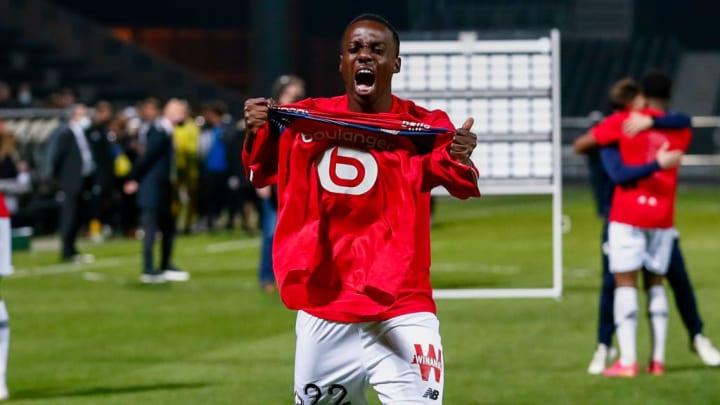 Timothy Weah Ligue 1 França George Weah Lille