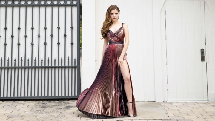 Anna Kendrick's Red Carpet Look For The 2021 British Academy Film Awards