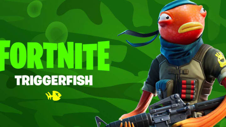 The Triggerfish Fortnite skin has made a return to the store for the first time.