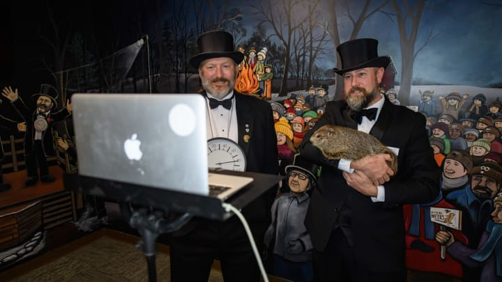 Annual Groundhog's Day Tradition In Punxsutawney, Pennsylvania Will Take Place Without The Usual