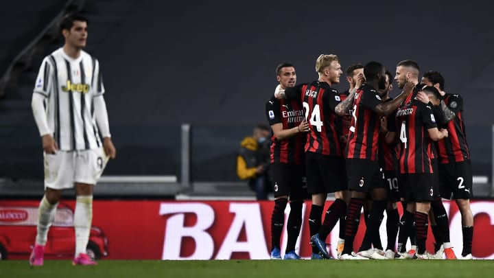 Milan finished two places and one point ahead of Juventus in last season's Serie A