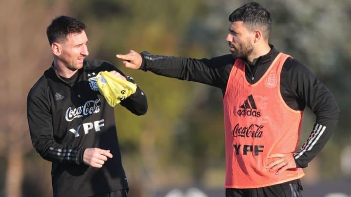 Lionel Messi, Sergio Agüero
