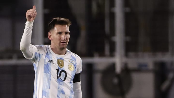 Messi was in fine form
