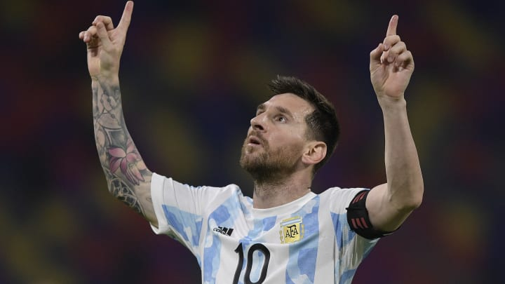 Messi insists Argentina never solely depended on him