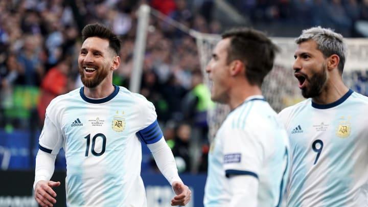 Argentina durante la Copa América de 2019
