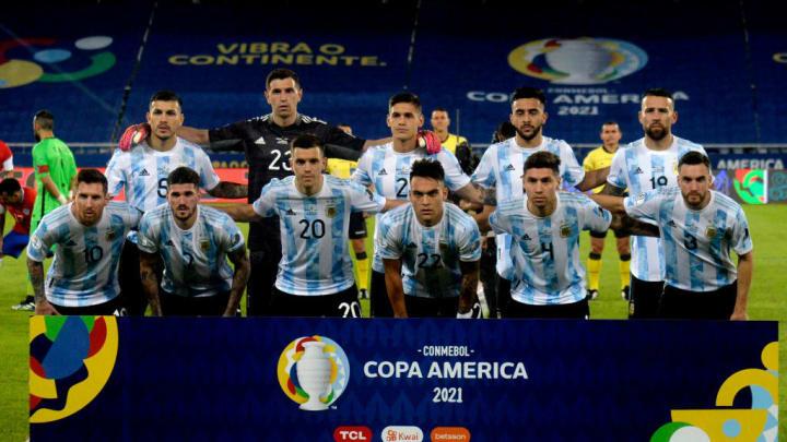 L'Argentina in Copa America