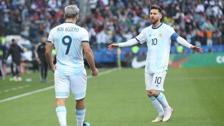 Sergio Agüero y Leo Messi, buenos amigos