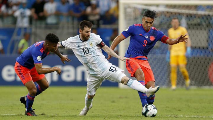 Lionel contra Falcao y Barrios.