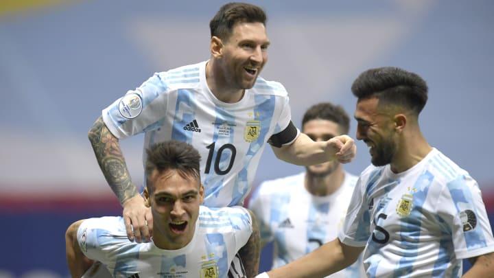 Lionel Messi compte bien soulever son premier trophée avec l'Argentine.