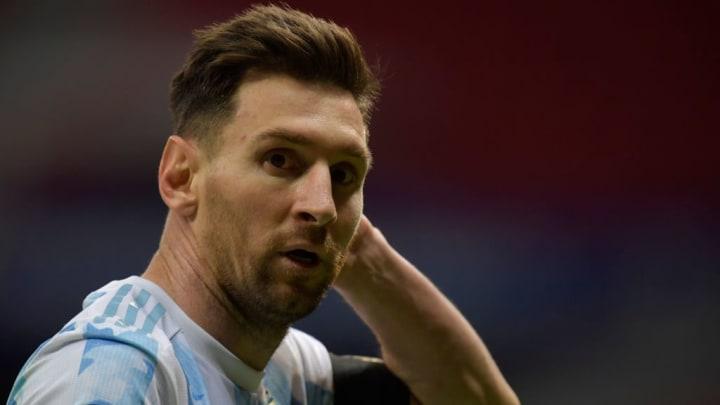 Argentina Copa América Lionel Messi