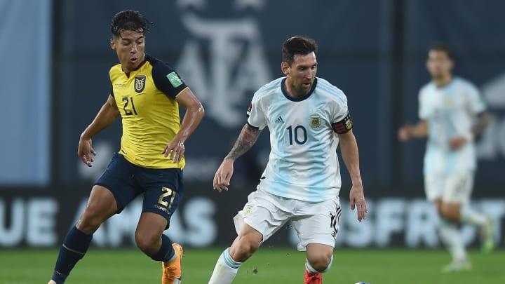 Ecuador jugara con Argentina