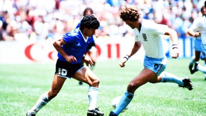 Maradona a réalisé un match exceptionnel contre l'Angleterre en 1986.