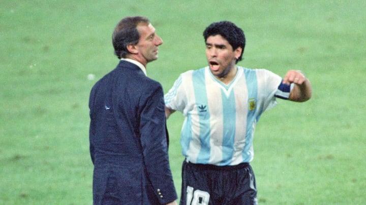 Diego Maradona, Carlos Bilardo