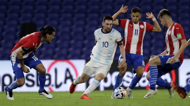 Lionel Messi vem de grande jogo contra o Uruguai