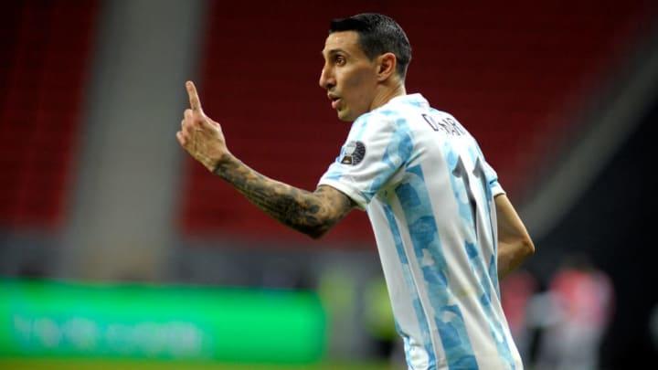 Angel Di Maria Argentina Bolívia Copa América