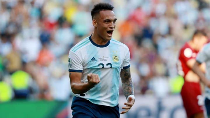 Lautaro Martinez Argentina Copa AMérica