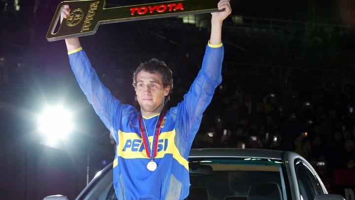 Argentina's Boca Juniors midfielder Mati