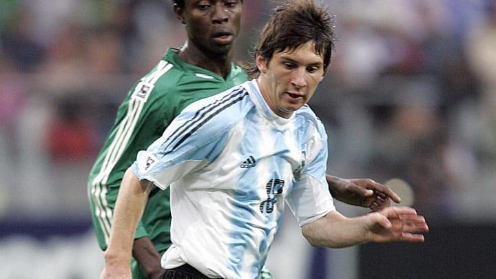 Los números de Lionel Messi en la selección argentina.