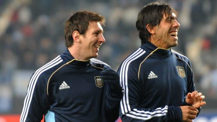 Leo Messi e Carlos Tevez