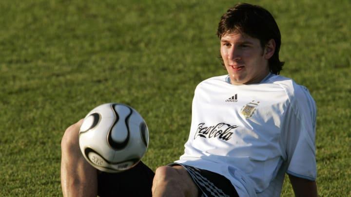 Lionel Messi Argentina 2006