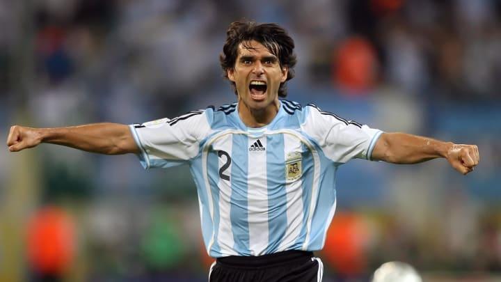 Argentinian defender Roberto Ayala celeb