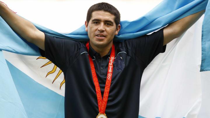 Juan Román Riquelme Argentina Olimpíada