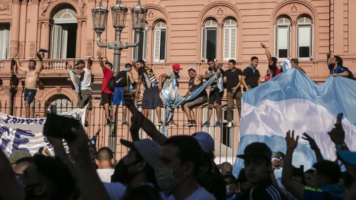 Diego Maradona wurde in Buenos Aires beigesetzt