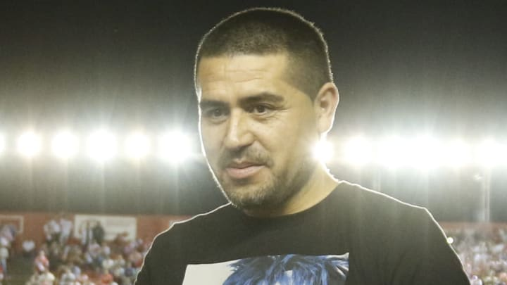 Riquelme é ídolo e vice-presidente do Boca Juniors