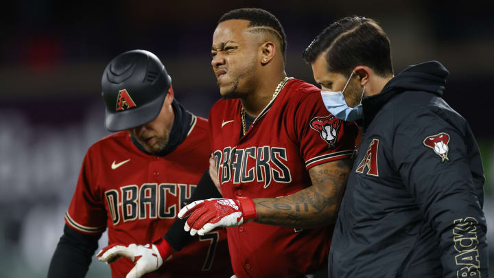 Injury update for Arizona Diamondbacks' Ketel Marte.