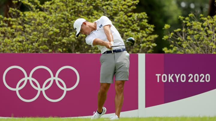 Collin Morikawa is the favorite at the Men's golf event at the 2021 Tokyo Olympics.