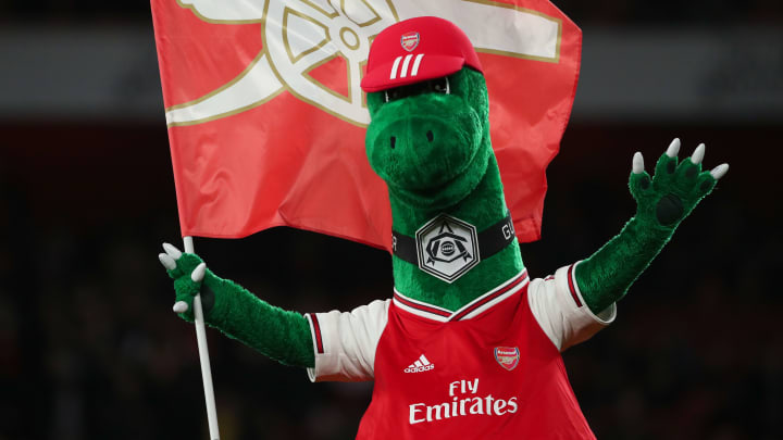 Arsenal have let mascot Gunnersaurus go amid further cost cutting
