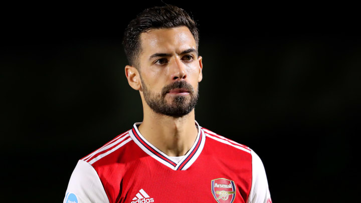 Pablo Mari was a January signing for Arsenal