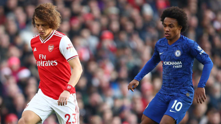 Willian, David Luiz