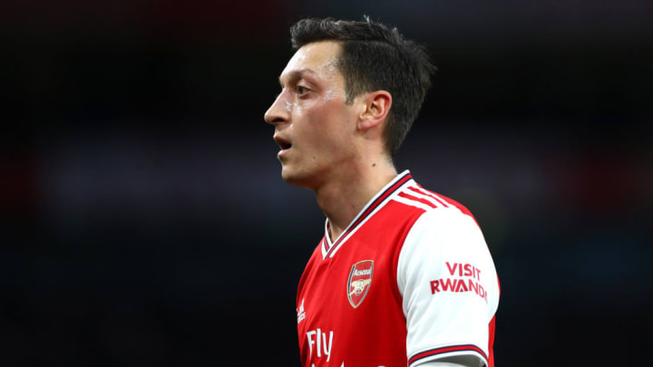 Özil doesn't play much football at the moment