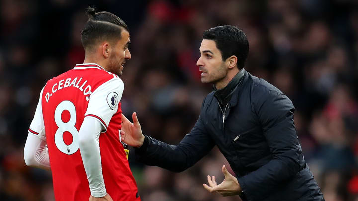 Mikel Arteta has been keen to Dani Ceballos' contribution to the team in matches and training