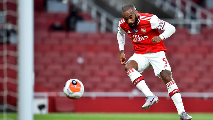 Lacazette netted his third goal in four games on Wednesday