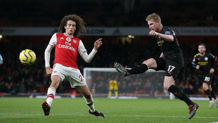 In drei Wochen trifft ManCity zum Restart auf Arsenal