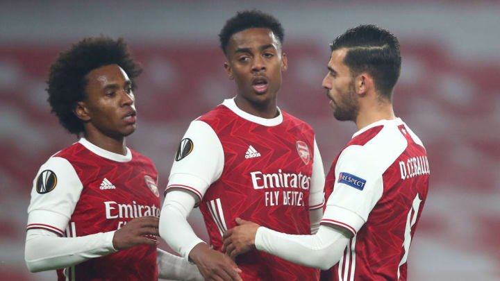 Joe Willock, Dani Ceballos, Willian