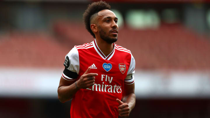 Pierre-Emerick Aubameyang is looking for a lucrative new contract at Arsenal