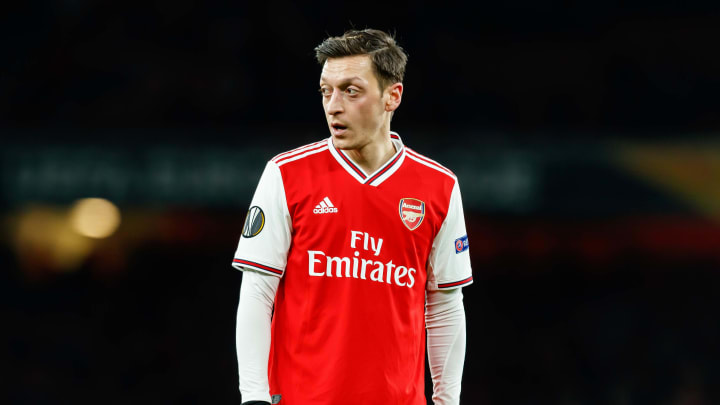 Mesut Ozil is yet to feature for Arsenal this season
